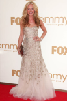 Cat Deeley - golden Monique Lhullier gown