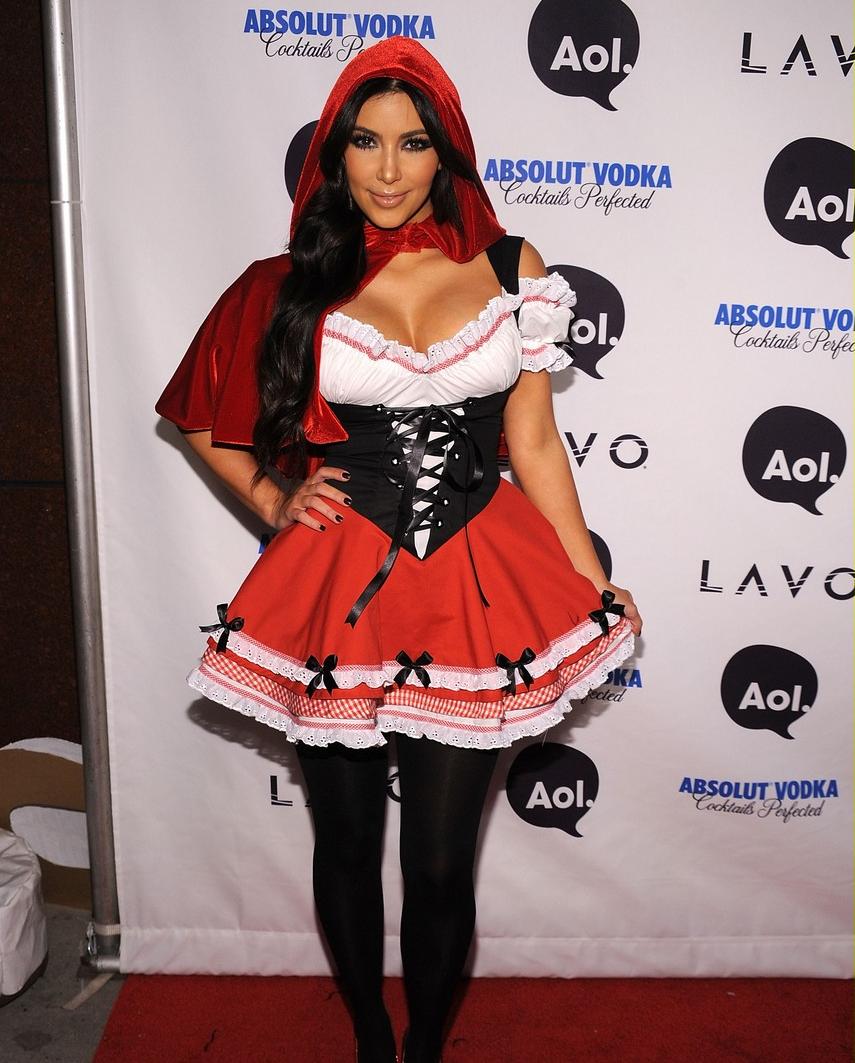 Kim Kardashian Wonder Woman Costume